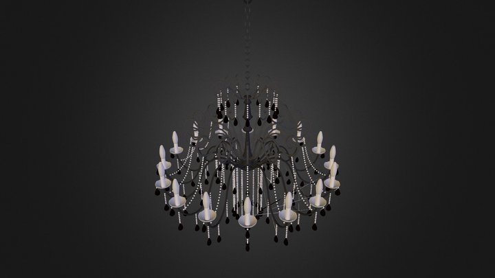 chandelier-lamp 3D Model