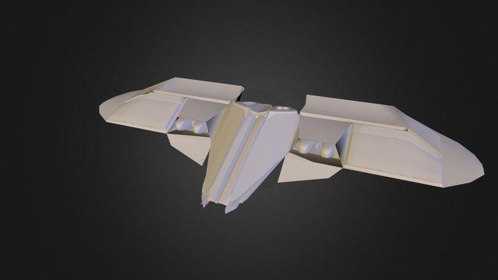 Bomber WIP 3D Model