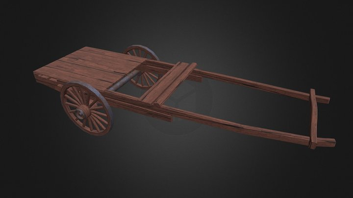 Wagon Base 3D Model