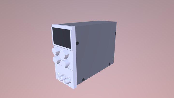 Final Cheatham Lab Bench Power Supply 3D Model
