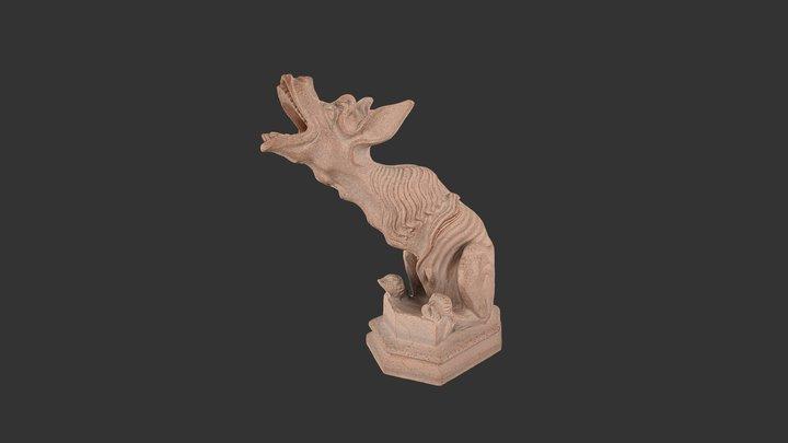 Gargouille âne - Boutique OND 3D Model