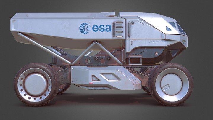 Scifi Truck 3D Model