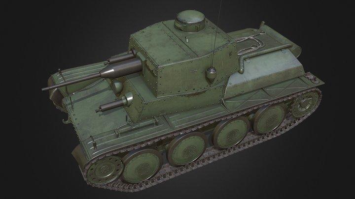 LTL 38T 3D Model