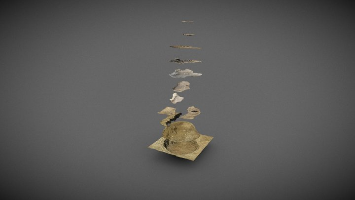 Molino San Vincenzo O4/S5/2018–2019: garbage pit 3D Model