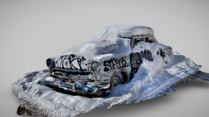 Day 35 - Wreck captured using Scaniverse 3D Model