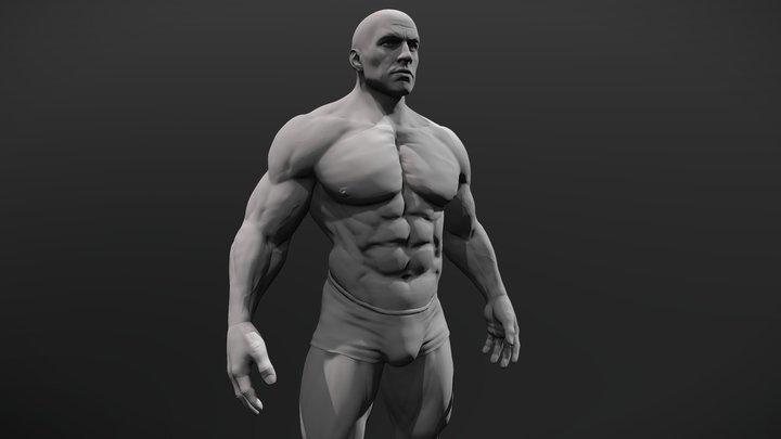 Superhero 3d print Model 3D Model