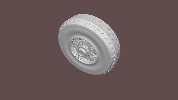 CGC Exercise Wheel 3D Model