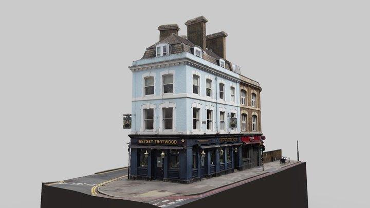 Betsey Trotwood Pub 3D Model