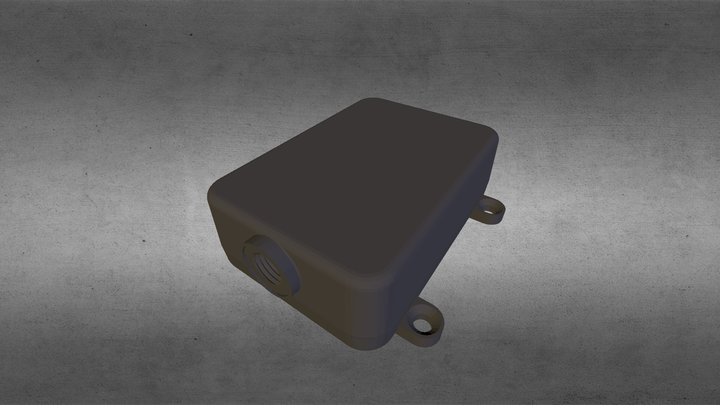 Rastreador Veicular à Prova D'água TrackSat-5W 3D Model