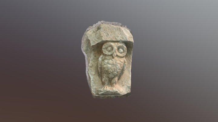 Athens - Acropolis museum - Owl 3D Model