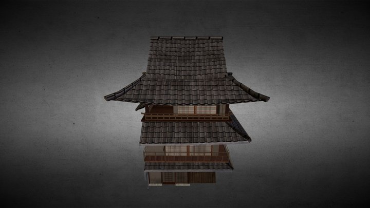 Japanese House _swords soul_ 3D Model