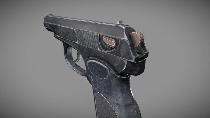 PM - Pistol 3D Model