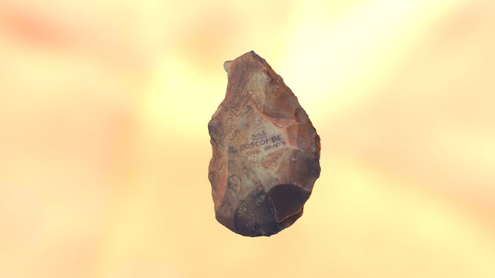Palaeolithic Hand Axe 3D Model