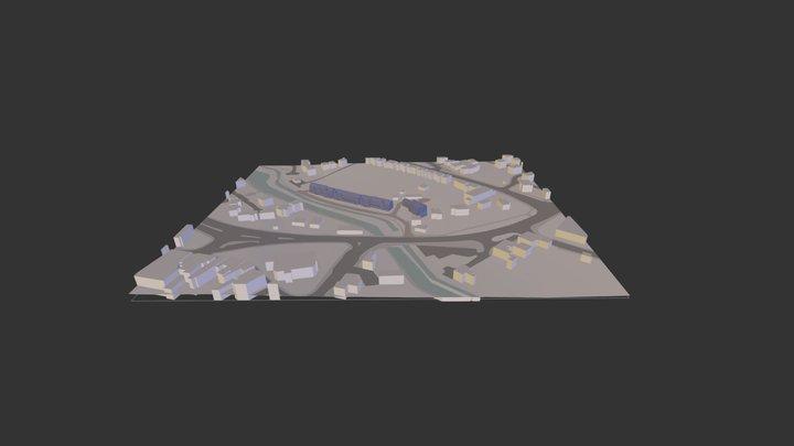 557 Residential Scheme 3D Model
