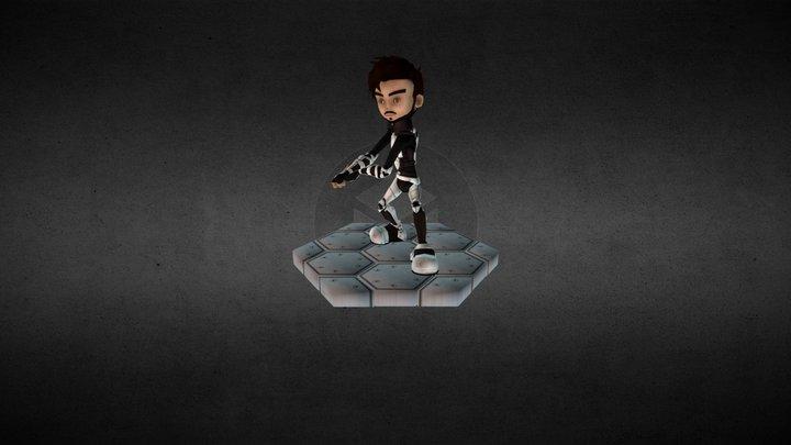 Johann, The Soldier 3D Model