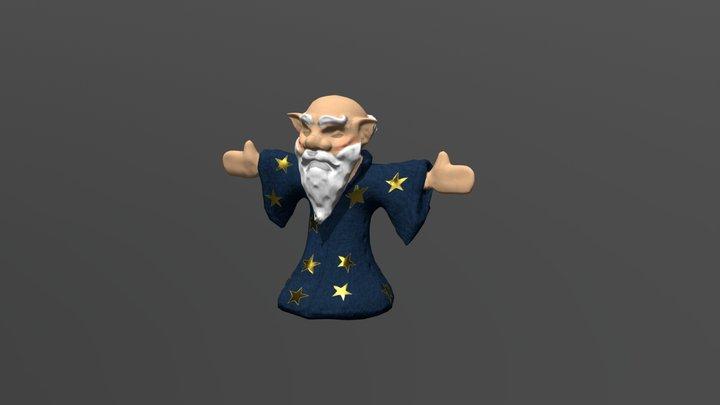 Merlin_ Form The KNight Guardian 3D Model