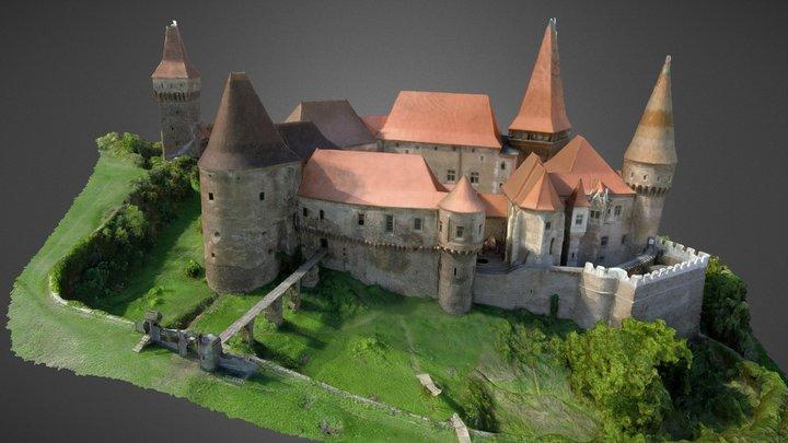 Castelul Corvinilor Fortress 3D Model