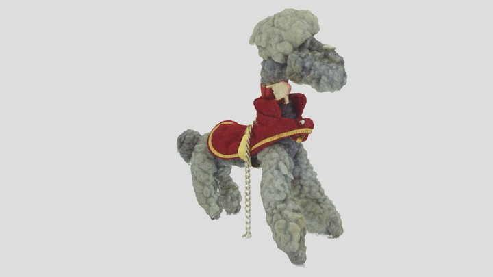 Skipper's dog, A plastic doll, A toy 3D Model