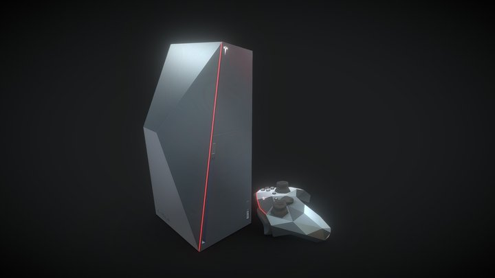 Tesla cyberboX 3D Model
