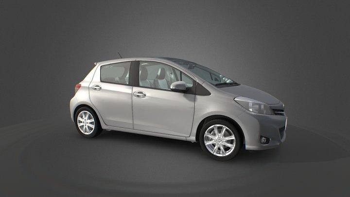 Toyota Yaris 3D model 3D Model