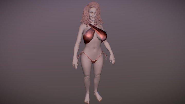 3D Woman 3D Model