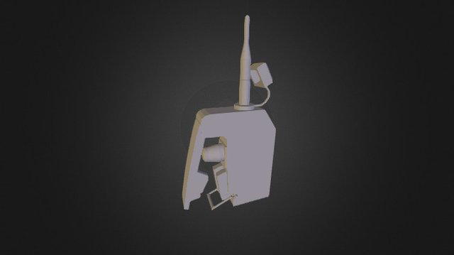 C-4 Detonator Remote 3D Model