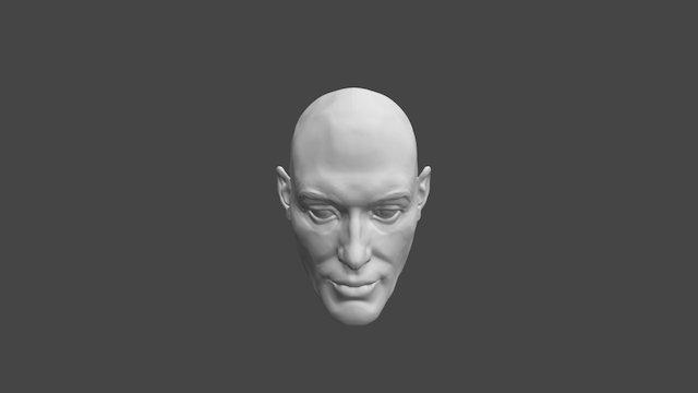 03 Portrait Study 3D Model