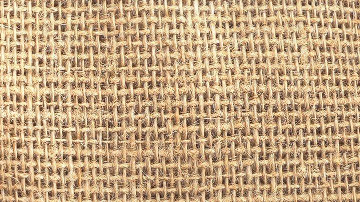 Meet Mat 8k texture material sackcloth 3D Model