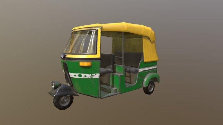 Tuktuk 3D Model