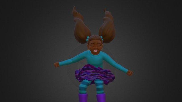 Phoebe. 3D Model