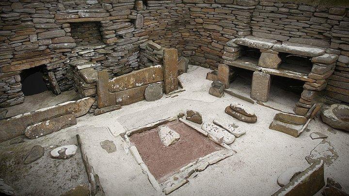 Neolithic House, Skara Brae, Orkney 3D Model