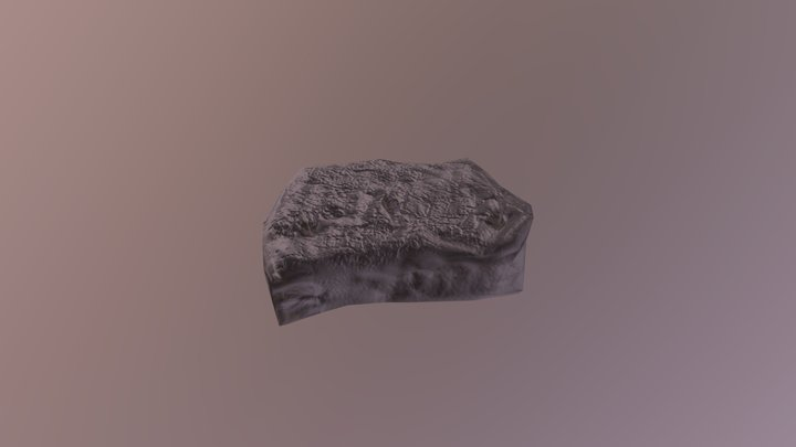 Stone Slab 3D Model