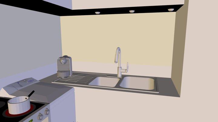 CUISIEN DMROY.3ds 3D Model