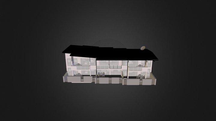 Lae Apartments.3DS 3D Model