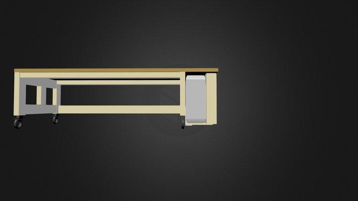 Test Bureau 3D Model