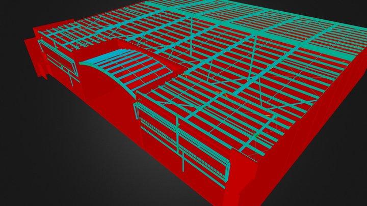 Warehouse 1ROLD.3ds 3D Model