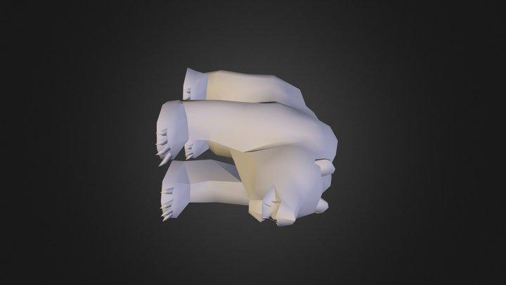 bear.obj 3D Model