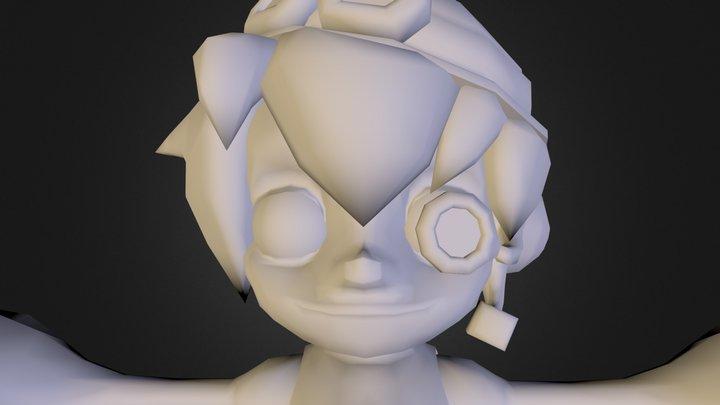 阿提姆 3D Model