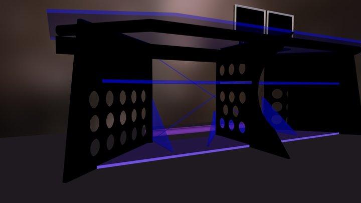 Tron Table Concept 3D Model