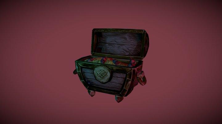 Year 1 DMUGA- Treasure Chest 3D Model