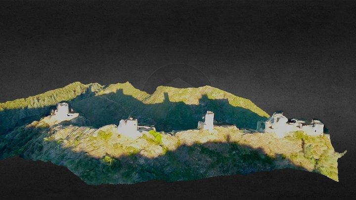 Château de Lastours 3D Model