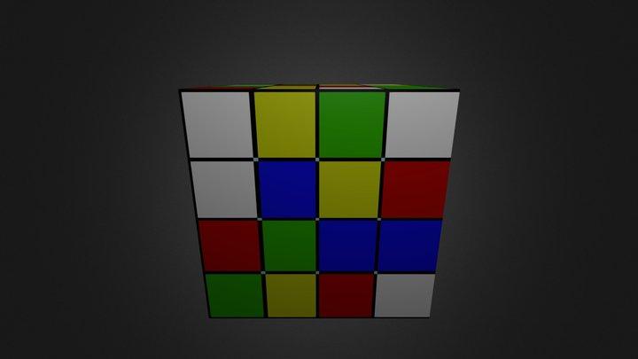 Кубик рубика 3D Model
