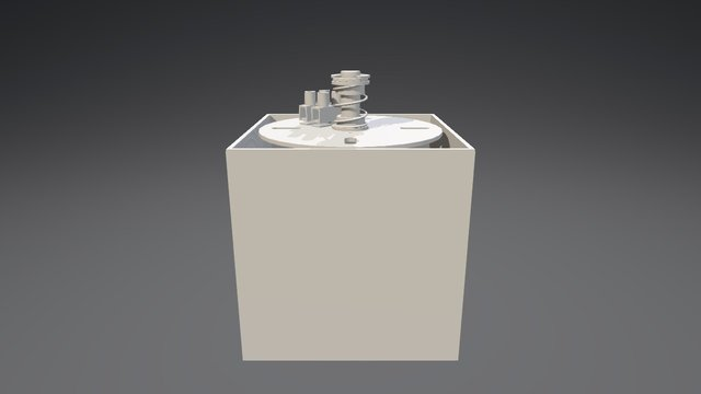 APLIQUE ICE HL GU10-BINARIO 3D Model
