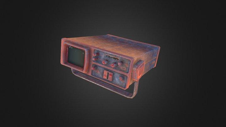 Desert Military Kit: Spectral Analyser 3D Model