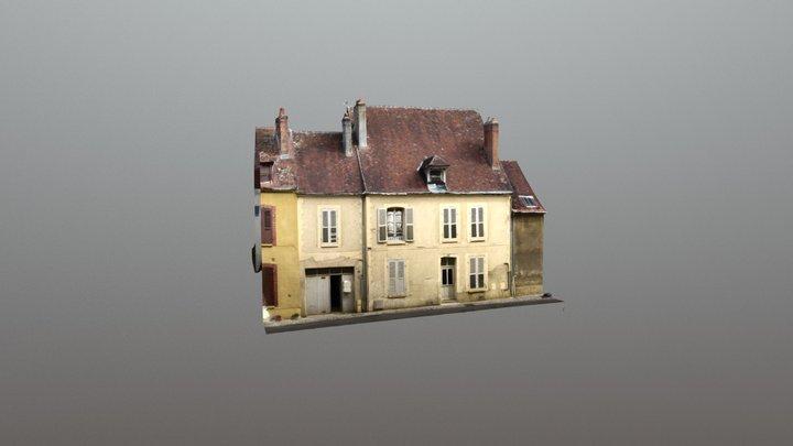 Maison Joigny en 3d 3D Model