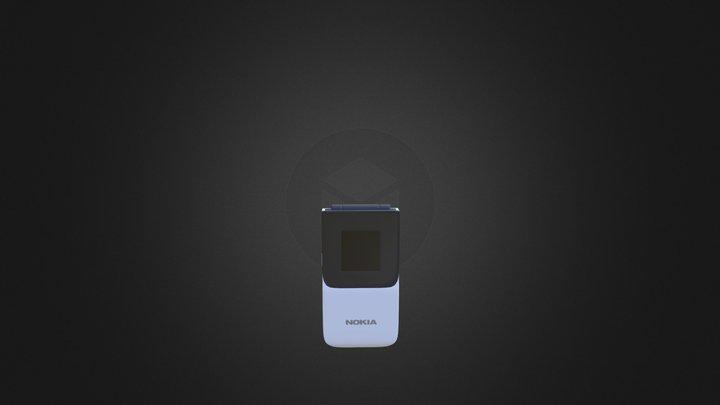 Nokia 2720 Flip 3D Model