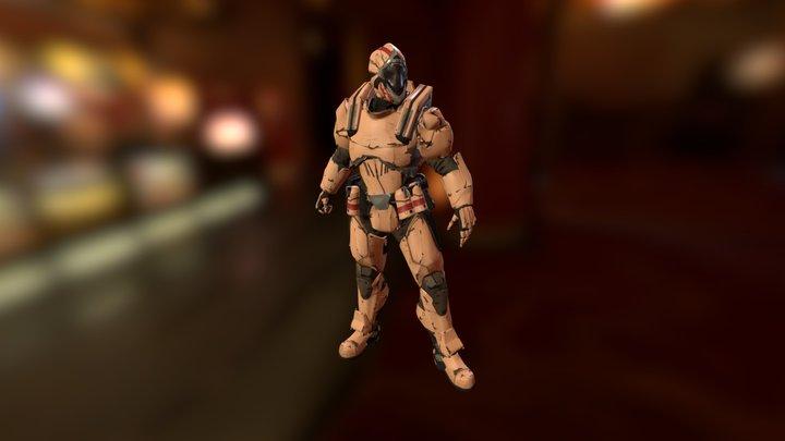 Vanguard 3D Model