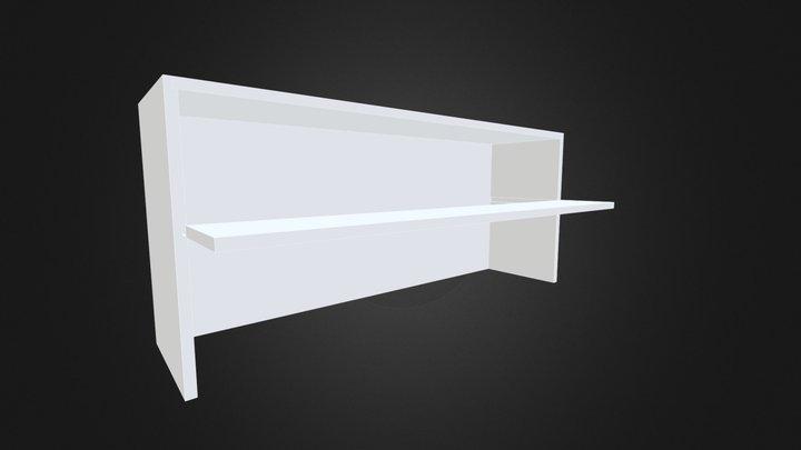 Shelf Single Shelf 2 3D Model