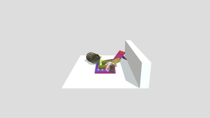 # Trash Challenge 3D Model
