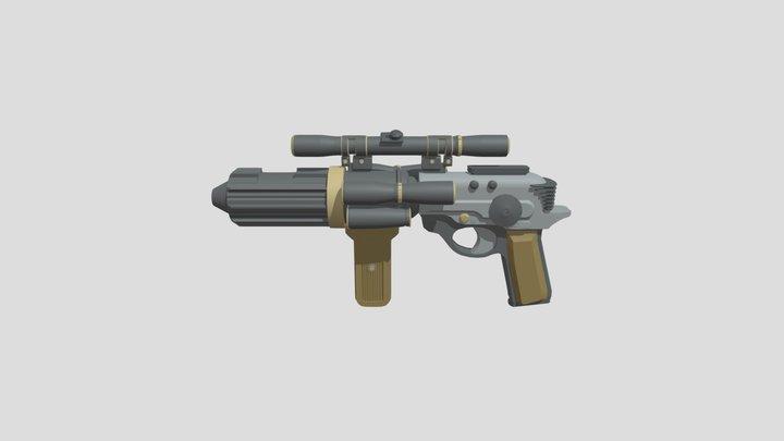 Star Wars EE-4 3D Model